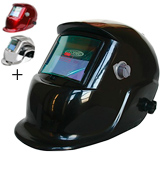 Leopard LEO-WH86BK 9-13 Shade Welding Helmet Mask with 5 Free Spare Lenses