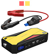 DBPOWER 600A Peak 18000mAh Car Jump Starter
