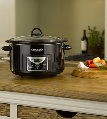 Review of Crock-Pot SCCPRC507B-060 4.7L Gloss Black Digital Countdown Slow Cooker