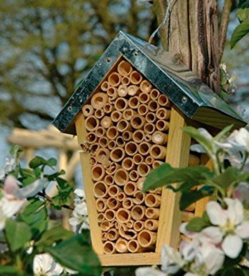Review of Wild on Wildlife WA02 Esschert Design Wood Bee House