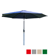 Alfresia Aluminium Wind up Garden Parasol Sun Shade Patio Outdoor Umbrella 3m