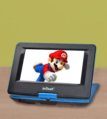 Review of ieGeek Portable DVD Player