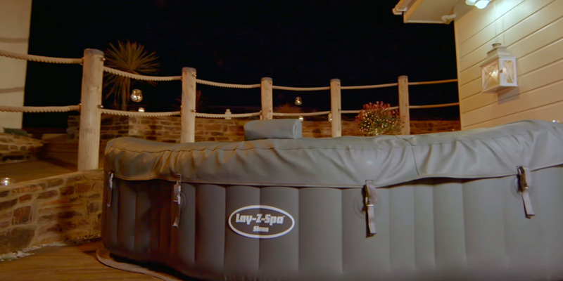 Review of Lay-Z-Spa BW54156 Hot Tub, Siena Airjet Inflatable Spa, 1-2 Person