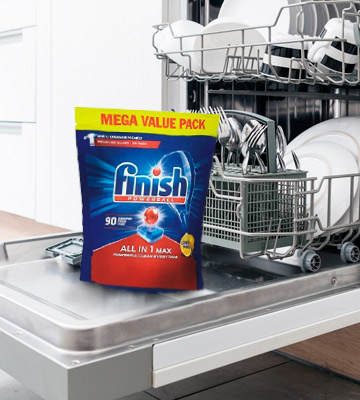 Review of Finish All in 1 Max Dishwasher Tablets