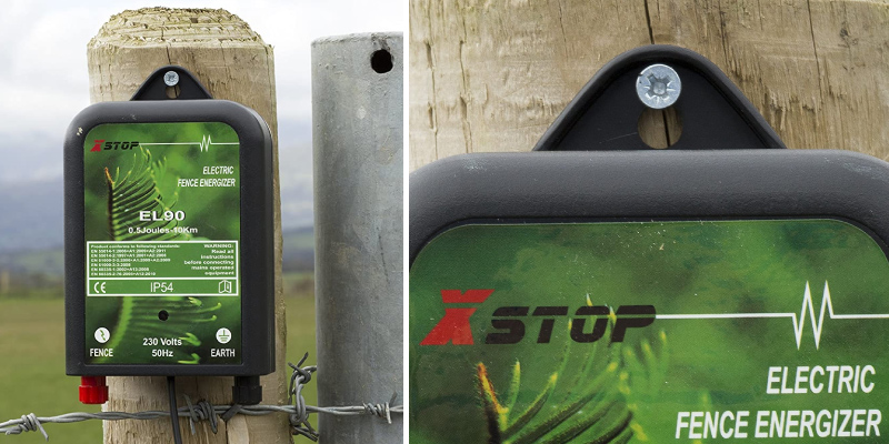 Review of Xstop EL50 Mains Powered Electric Fence Energiser