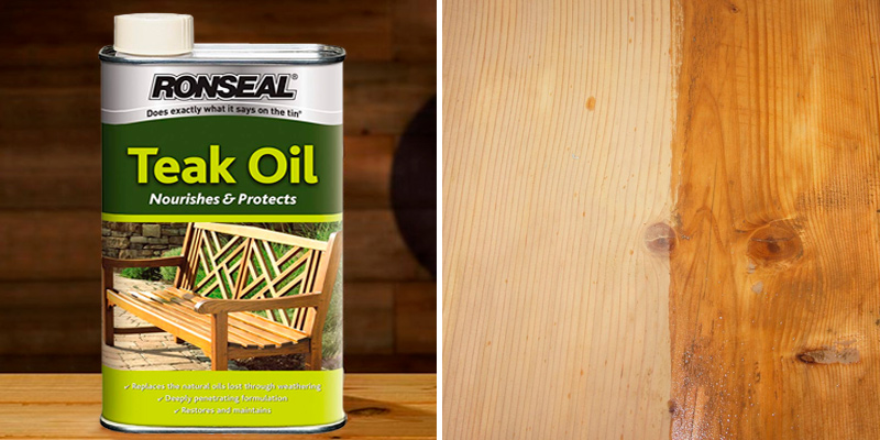 Review of Ronseal TO1L Teak Oil