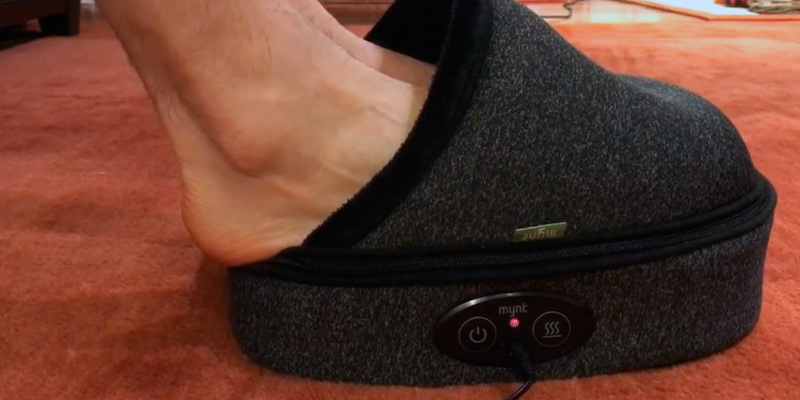 Review of Mynt Softcover Shiatsu Foot Massager with Heat