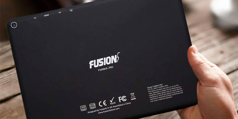 "Fusion5 104Bv2 PRO 10.1"" IPS Android Tablet (Quad-Core, 2/32GB) in the use"