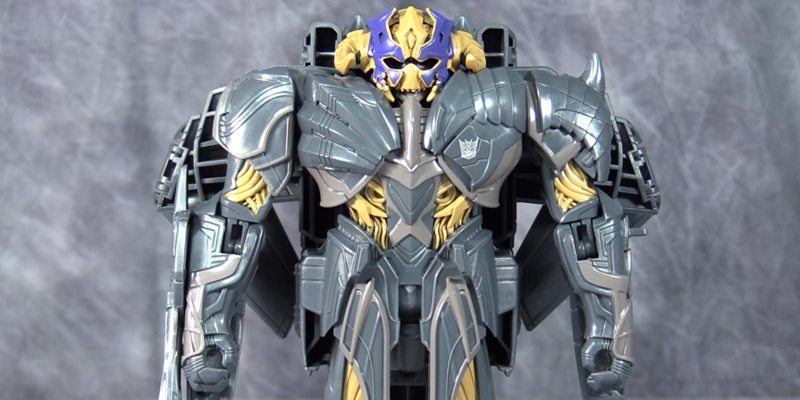 Review of Transformers C2824ES0 The Last Knight Armour Turbo Changer Megatron Figure