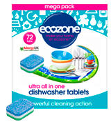 Ecozone Ultra All-in-One Dishwasher Tablets