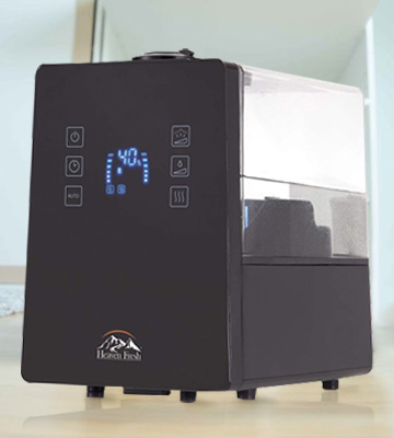 Review of PureMate PM 840 Hybrid Ultrasonic Cool & Hot Mist Humidifier, 6 Litre