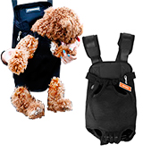 NICREW PT0014 Legs Out Front-facing Dog Carrier Backpack