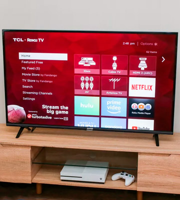 Review of TCL 43DP628 43 Inch UHD 4K TV, HDR10 and HLG, Modern Design with Freeview Play