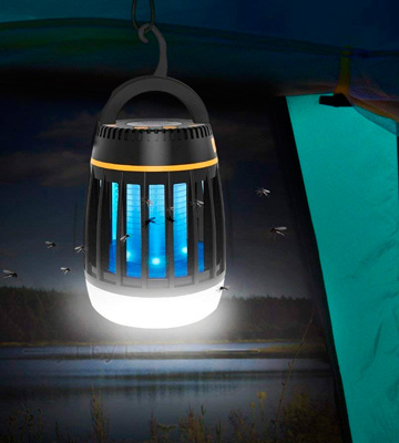 Review of AGM Mosquito Insect Killer Elover Bug Zapper 3 To 1 Fly Zapper Camping Latern