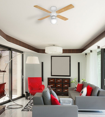 Review of MiniSun Nimrod Modern Ceiling Fan with Light