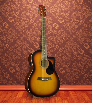 Review of Tiger Music Sunburst Electro Acoustic Guitar Pack
