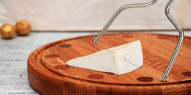 Review of Jamonprive Lyre Cheese Slicer with Wire Cutter & Stainless Steel Handle