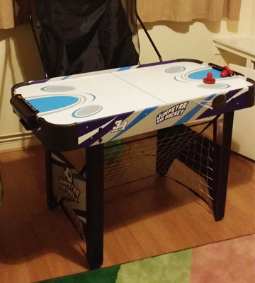 Review of JumpStar Sports 3-In-1 Multi Games Table Childrens Air Hockey, Football, Basketball