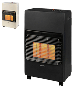 Warmlite Portable Gas Heater on Wheels with Anti-Tilt Device