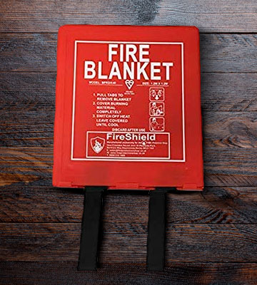 Review of FireShield PRO Fire Blanket Hard Case (Kitemarked)