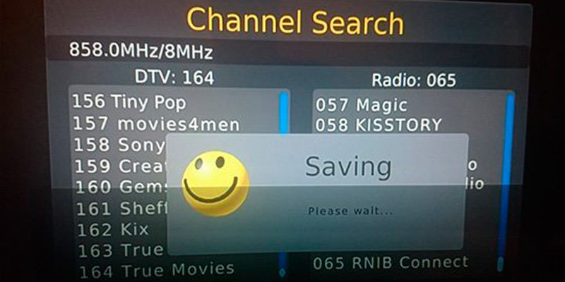iView HD MSD7818 3-in-1 Set Top Box application