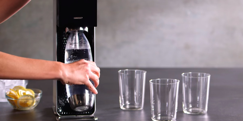 SodaStream Power Soda Maker in the use