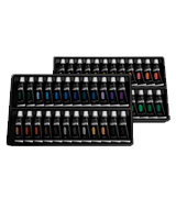 Castle Art Supplies Acrylic Paint Set 48 Vibrant Colours with Larger Tubes