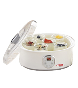Cooks Professional Compact Yoghurt Maker with LCD Display Screen