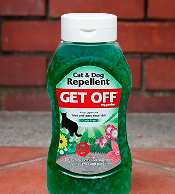 Review of Get Off Crystal like jelly Cat And Dog Repellent