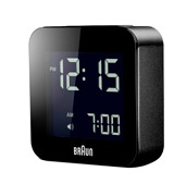 Braun (BNC008BK) Digital Travel Alarm Clock