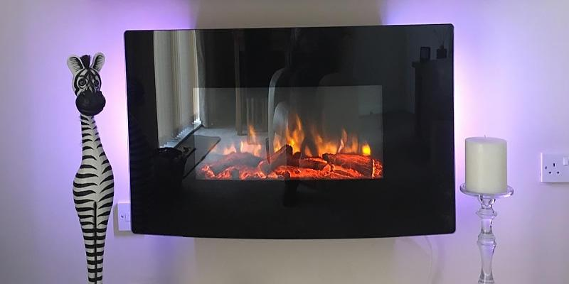 Detailed review of Endeavour Fires and Fireplaces Egton Wall Mounted Electric Fire