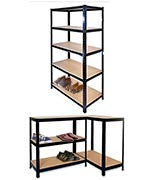 Garden Mile® Heavy Duty 5 Tier Garage Racking