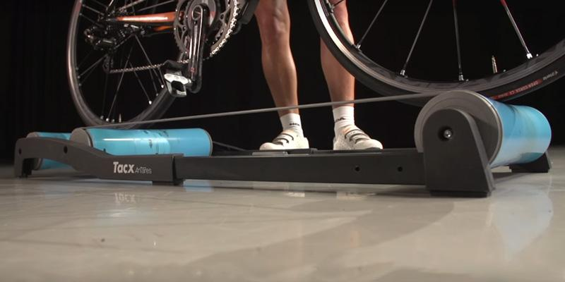 Tacx T1000 Antares Training Rollers in the use