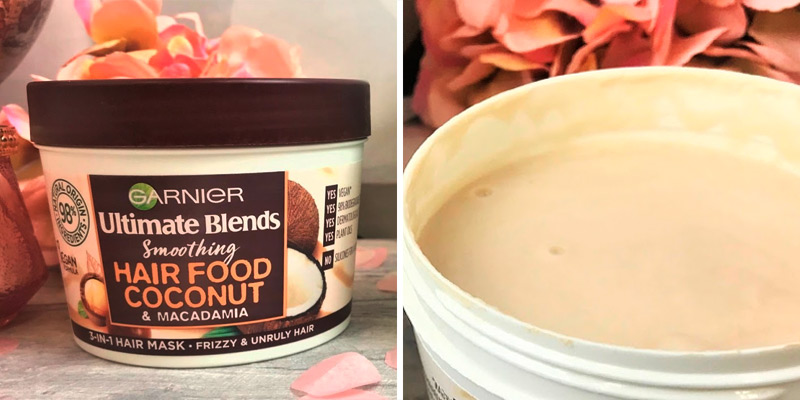 Review of Garnier 390ml Ultimate Blends Hair Food Coconut Oil 3-in-1 Frizzy Hair Mask Treatment