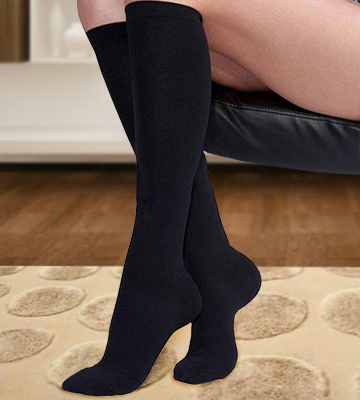 Review of Kensington Compression Socks for Men & Women Stay Well Anti-DVT Graduated Fit Pain Relief, Recovery, Endurance, Shin Splints, Flight Travel, Maternity