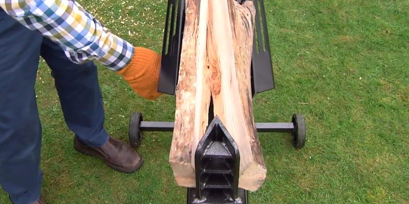 The Handy THLS-6-PLUS Hydraulic Log Splitter application
