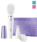 Braun FaceSpa 832 Facial Epilator and Cleansing Brush