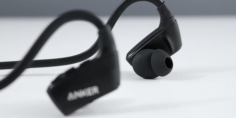 Anker SoundBuds Sport NB10 Wireless Headset in the use