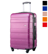Merax Lightweight Carry On ABS Hard Shell Hand Luggage Suitcase