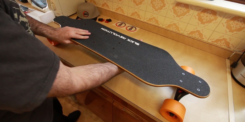 Review of SLICK Max-Eboard Electric Longboard