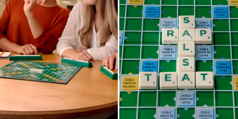 Review of Mattel games Scrabble Orginal Y9592 Board Game