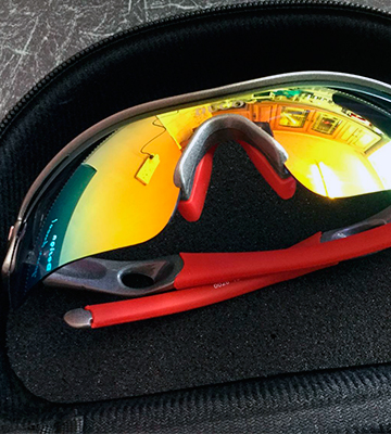 Review of Duco DC-0026-01-UK Polarized Sports Sunglasses with 5 Interchangeable Lenses