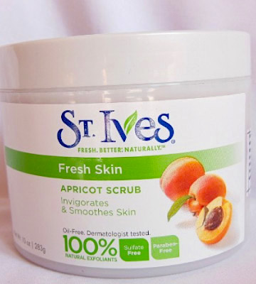 Review of St Ives Fresh Skin Apricot Body Scrub