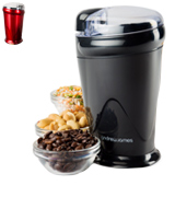 Andrew James 5060146061636 Electric Coffee Bean Seeds Nut & Spice Grinder