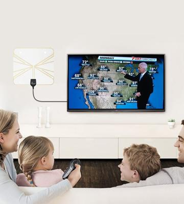 Review of Aizbo Digital Indoor Ultra Thin Transparent HDTV Antenna