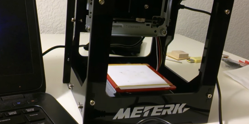 Review of Meterk DK-BL Mini DIY Laser Engraving Machine