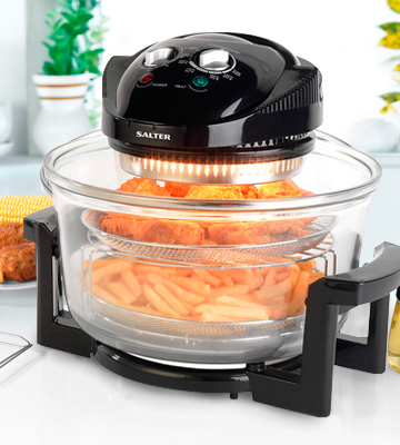 Review of Salter EK1950 Triple Power Halogen Convection Infrared Cooker