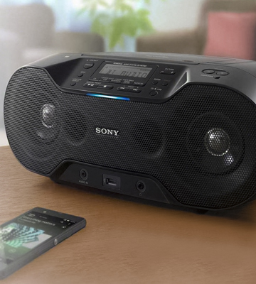 Review of Sony ZSRS70BTB.CEK Wireless DAB Boombox with CD/Bluetooth/NFC/USB Play