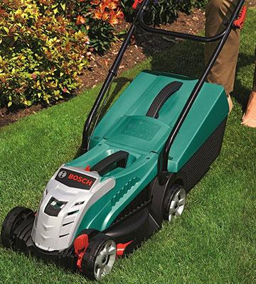 Review of Bosch Rotak 32 LI Cordless Lawn Mower with 36 V 2.6 Ah Lithium-Ion Battery