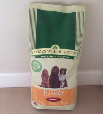 Review of James Wellbeloved Turkey and Rice Dog Food Adult